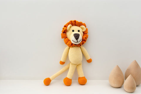 Leo The Lion By BeBeMoss - Quirki Babies