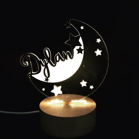 Moon and Stars Nightlight - Quirki Babies
