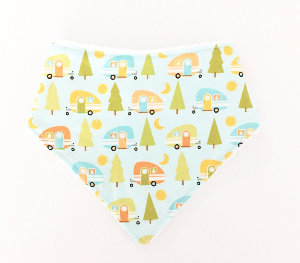 Happy Campers Dribble Bib - Quirki Babies