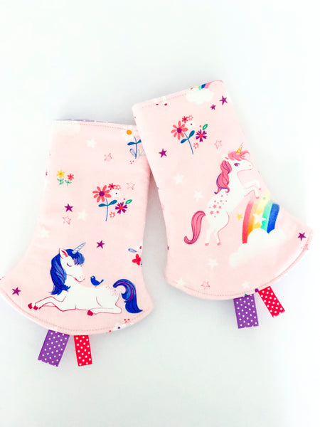 Unicorn Dreams Corner Drool Pads - Quirki Babies