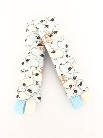 Seth The Sheep Stroller/ Car Seat Straps Cover - Quirki Babies