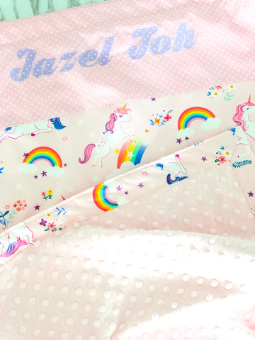 Unicorn Dreams Minky Blanket - Quirki Babies