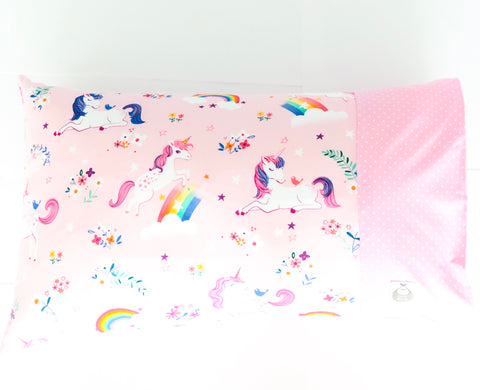 Unicorn Dreams Toddler Pillow - Quirki Babies