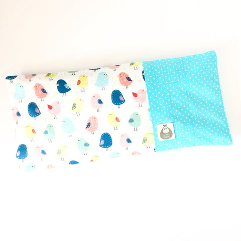 Chickee Little One Baby Beansprout Husk Pillow - Blue - Quirki Babies