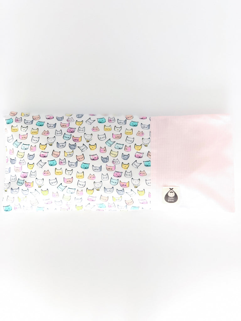 Meowy Kitties Baby Beansprout Husks Pillow - Quirki Babies