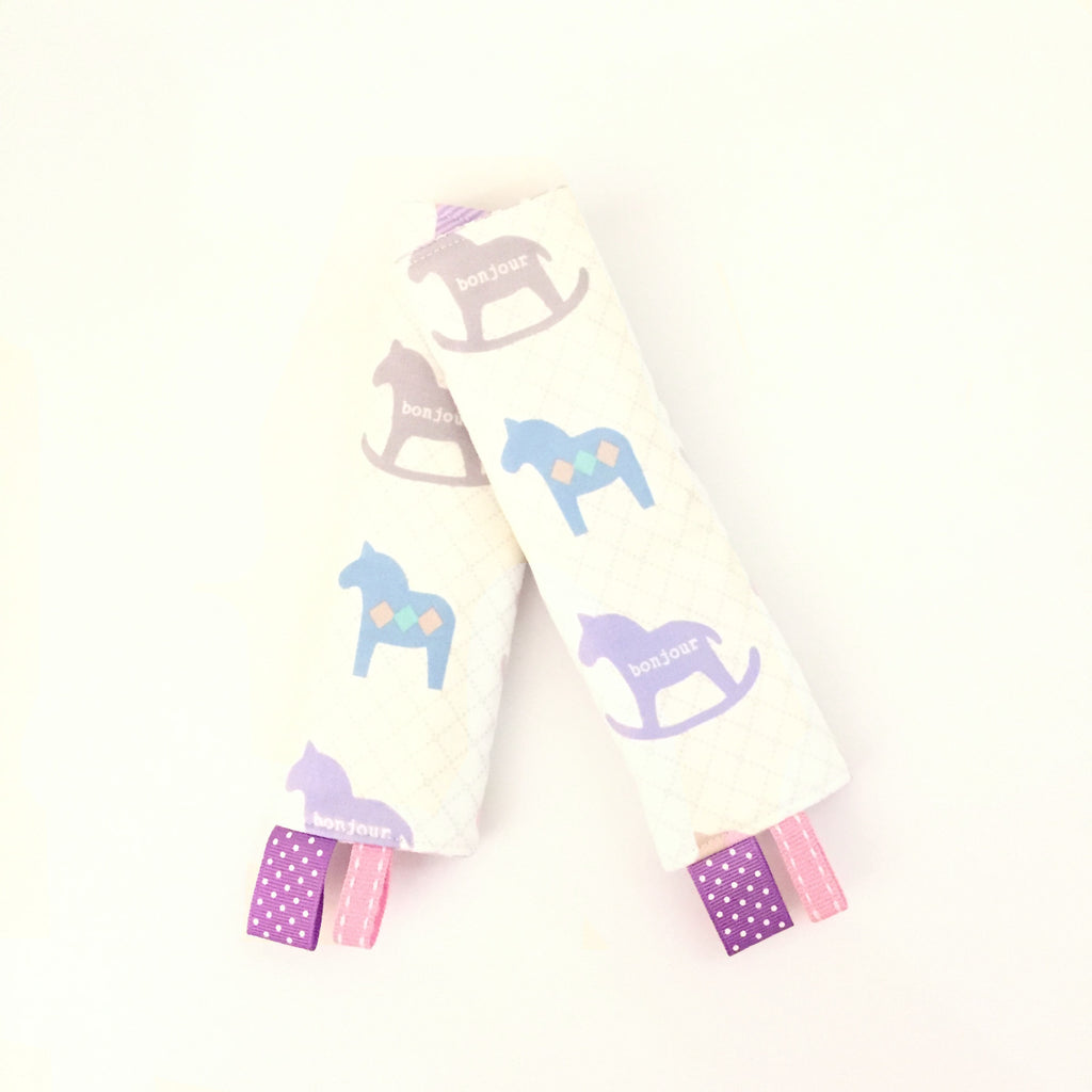Rocking Horse Stroller/ Car Seat Straps Cover - Quirki Babies