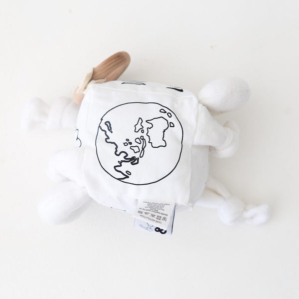 Organic Soft Activity Play Block – Little Dreamer Monochrome - Quirki Babies
