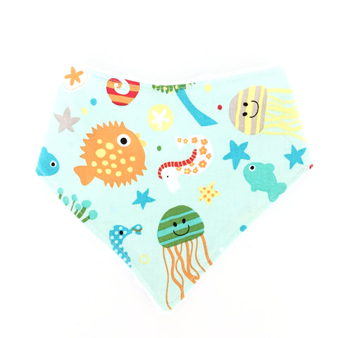 Under The Sea Dribble Bib - Quirki Babies