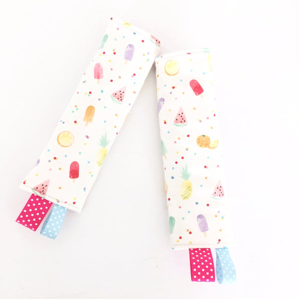 Summer POP Stroller/ Car Seat Straps Cover - Quirki Babies