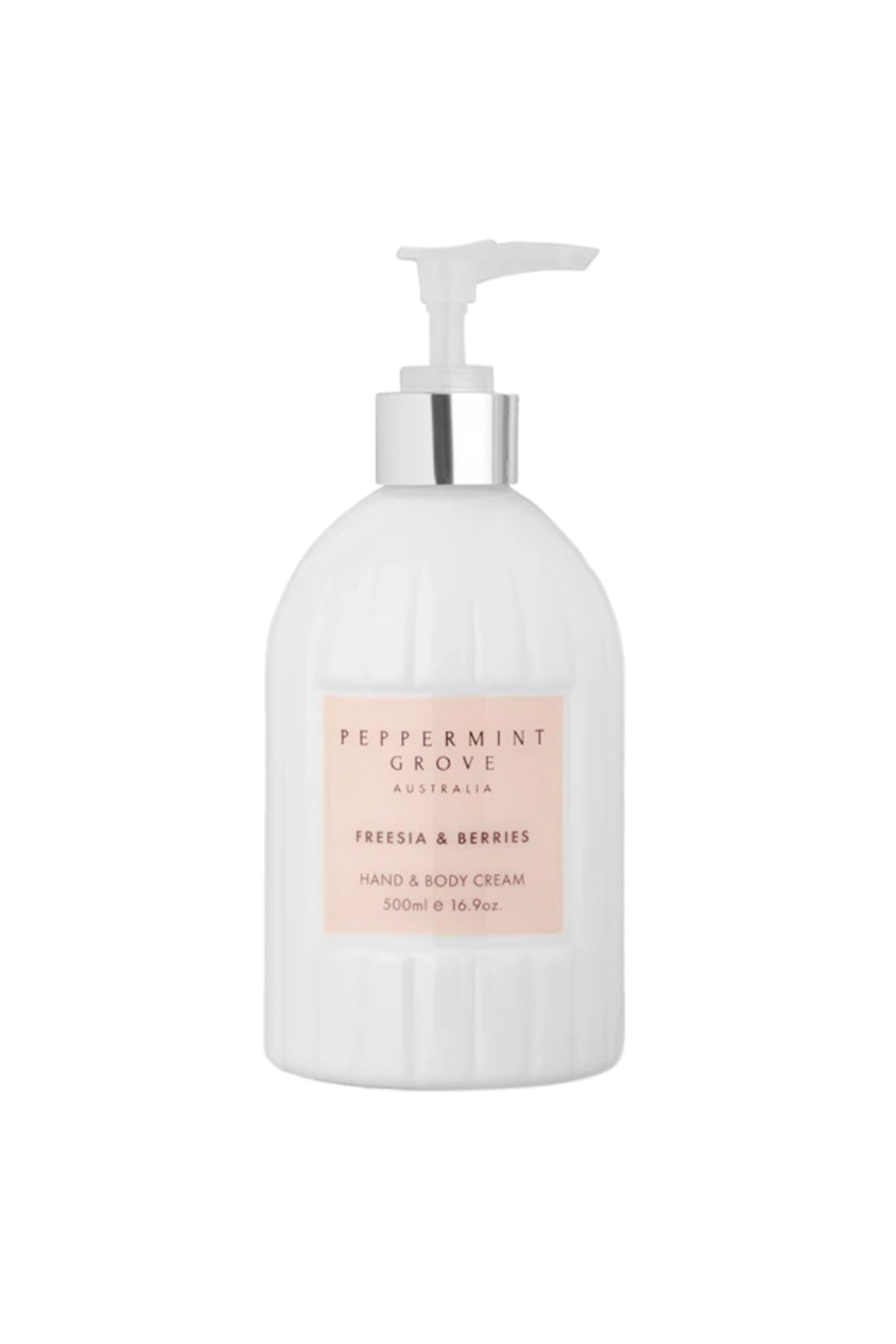 hand cream pump freesia & berries