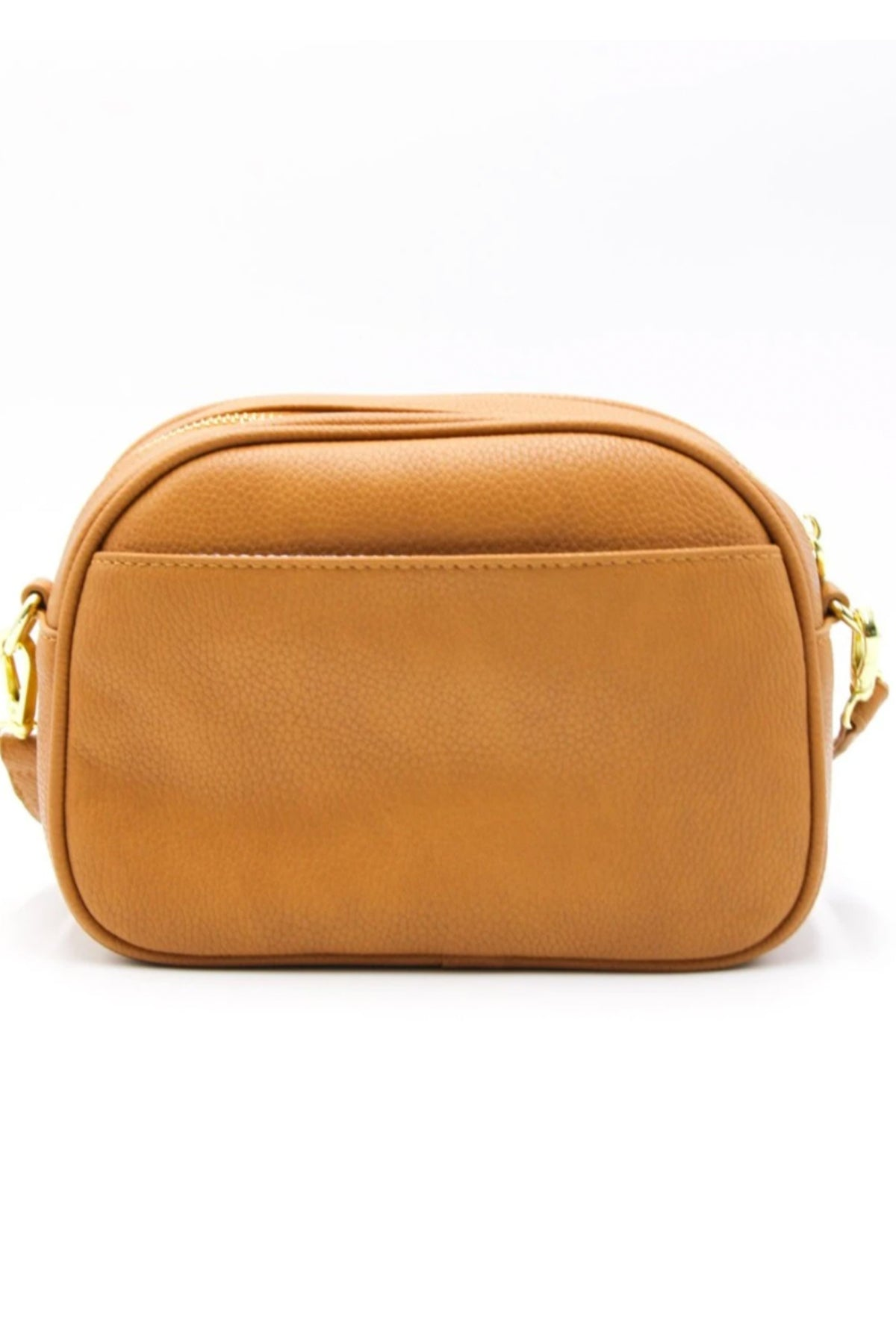 lucia curve cross body bag tan