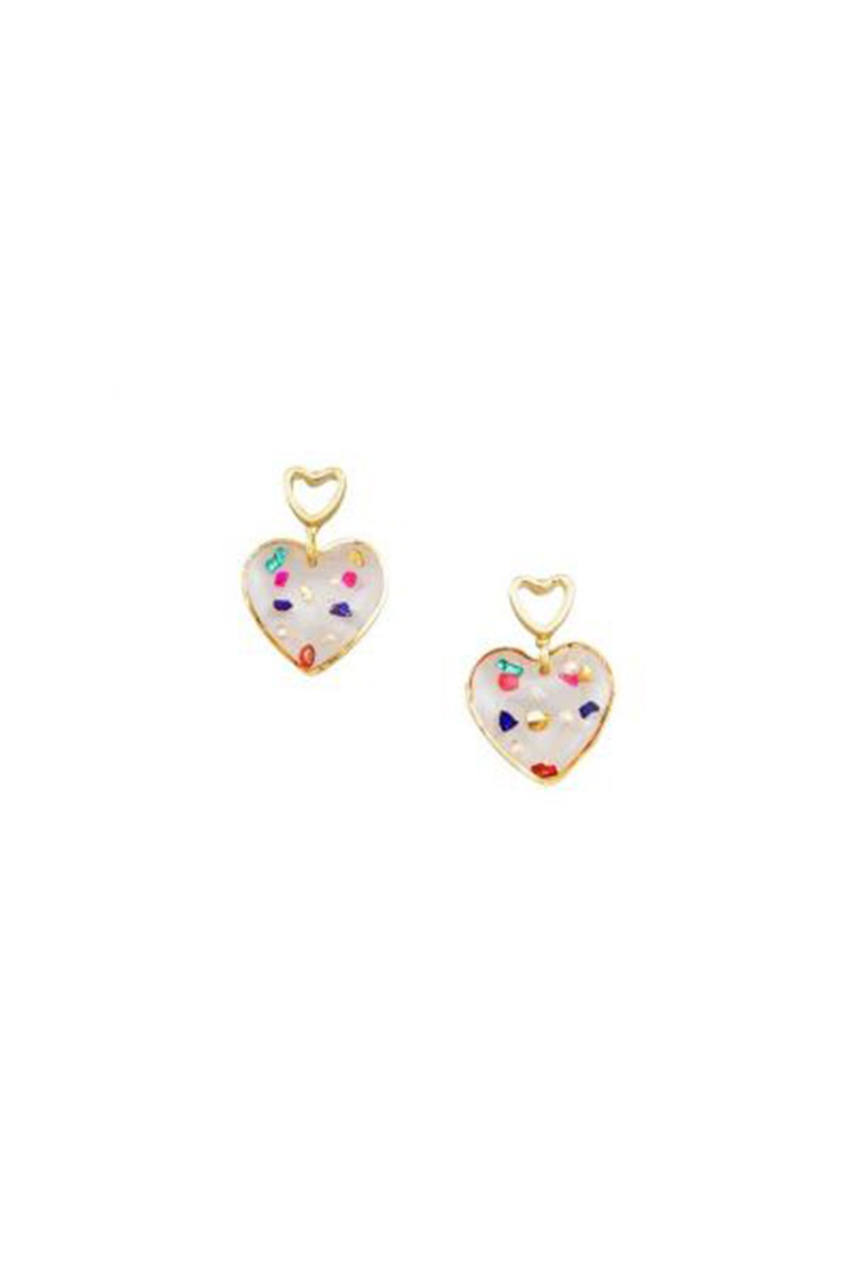 princess of hearts earring