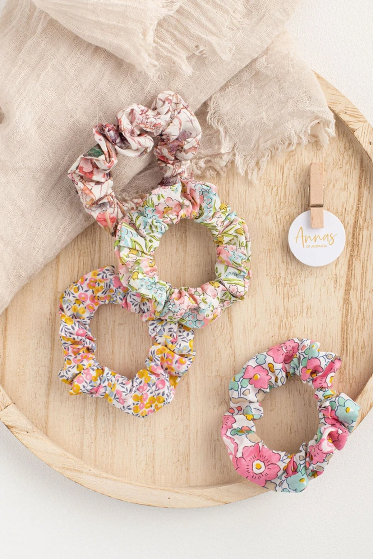 liberty scrunchie set