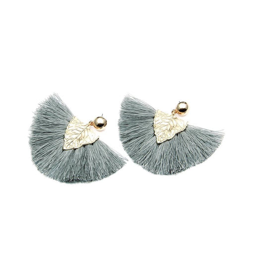 Hoja Tassel Earrings