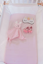 Blush Pink 100% Pure Mulberry Silk Fitted Bassinet Sheet