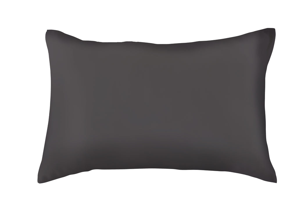 King Size Charcoal 100 Pure Mulberry Silk Pillowcase
