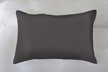 King Size Charcoal 100% Pure Mulberry Silk Pillowcase