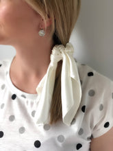 Silk Pony Scrunchie - Ivory