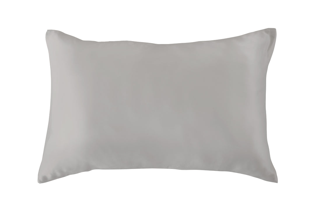 Silver Grey 100% Pure Mulberry Silk Pillowcase