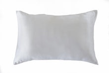 Pure White 100% Pure Mulberry Silk Pillowcase