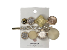 Mix & Match Pearl Hair Clip Pack - Ivory