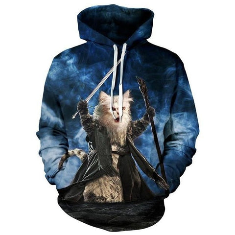 Meow Warrior Sweatshirt
