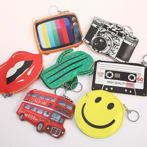 TFA Keychain Wallets/Coin Purse - Various Styles