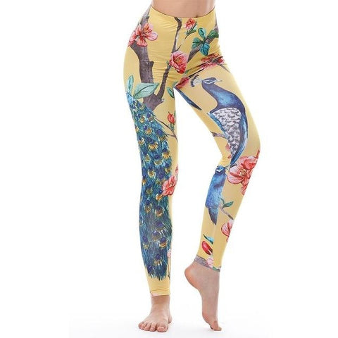 Peacock High Waisted Leggings