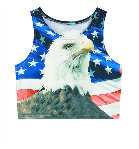 American Eagle Tank Crop Top