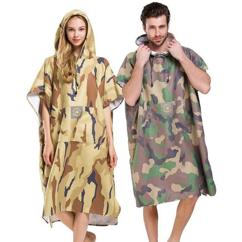 Unisex Camo Changing Robe