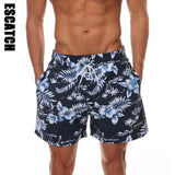 White Flower ESCATCH QUICK DRY MEN'S BOARD SHORTS