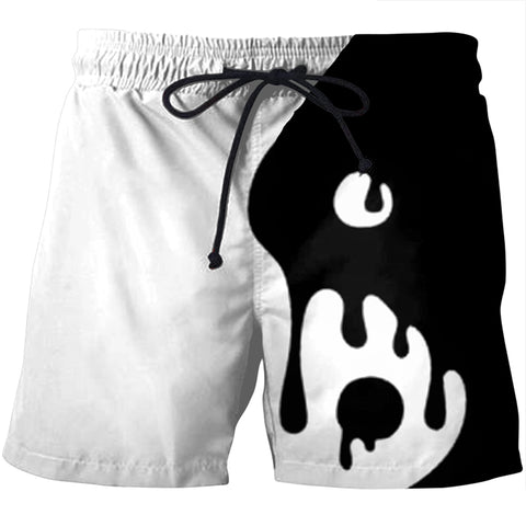 Yin Yang Men's Board Shorts