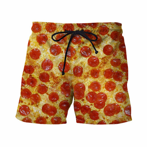 Pizza Men's Board Shorts