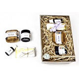 New mum Gift Pack: Sleep Oil, Nappy Balm, baby Lotion Bar and wash cloth