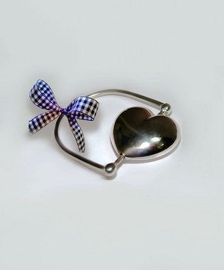 Sterling Silver Heart Rattle