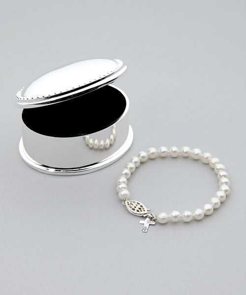 Lulu Bracelet - with silver cross
