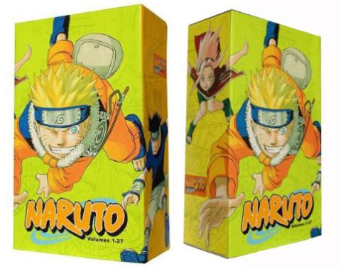 Naruto Manga Box Set 1