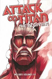 Attack on Titan The Beginning Box Set