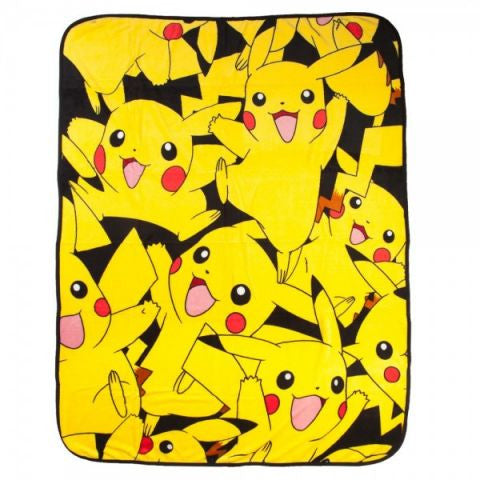 Pikachu Collage Blanket