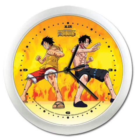 Luffy & Ace Wall Clock