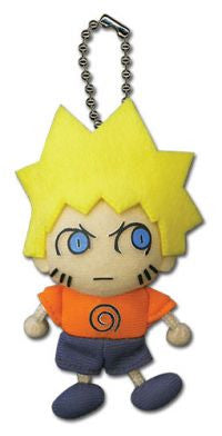 Naruto Plush Plain Clothes Key Chain