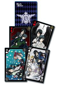 Black Butler Playing Cards Circus