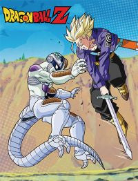 Frieza vs Trunks Blanket