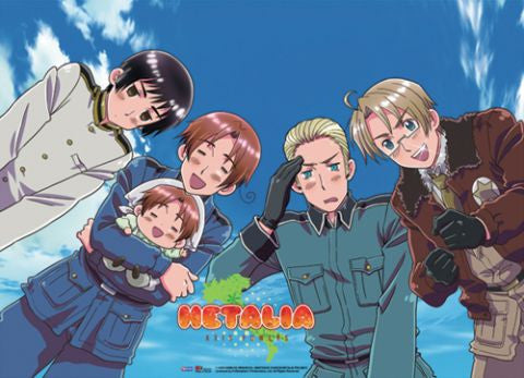 Hetalia - Sky Background Scroll