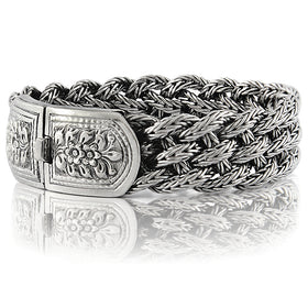 925 Sterling Silver Bracelets for Men - VY Jewelry