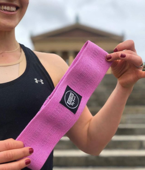 Fabric resistance bands - Non-slip Washable cotton band