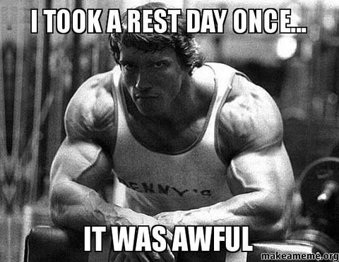 aweful rest day