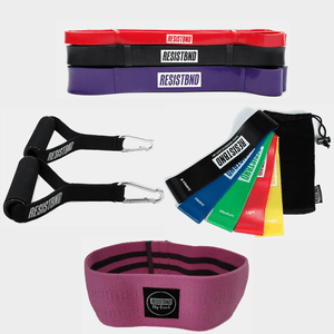 Resistance Bands - Home Workout Resistance Bands Bundle