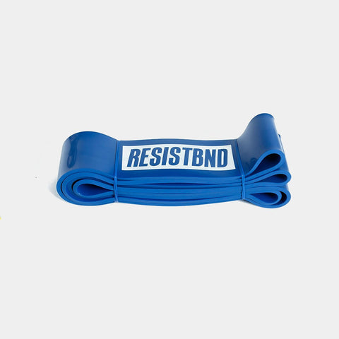 "Resistance Bands - 41"" Power Band - Blue (Highest Resistance)"