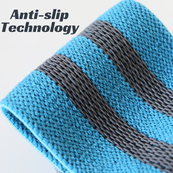 Fabric Resistance Bands - Blue Hip Band - Anti-slip Technology